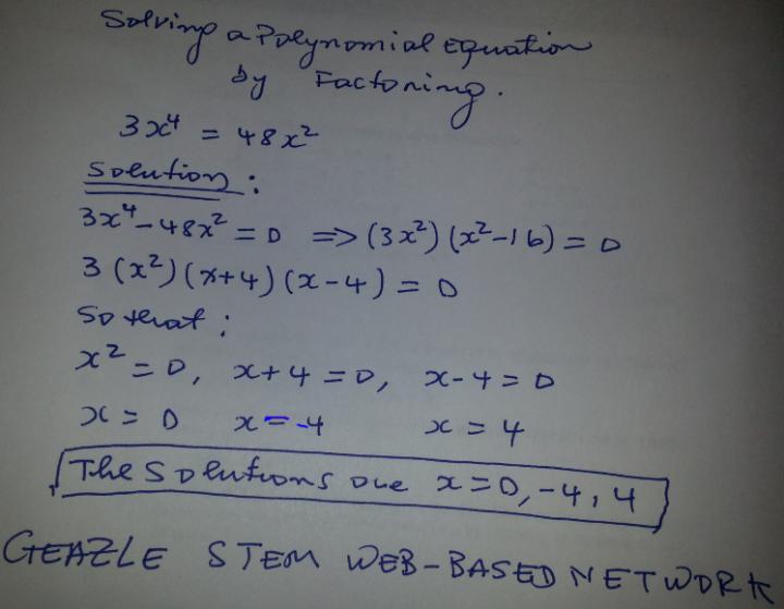 Polynomial Equation